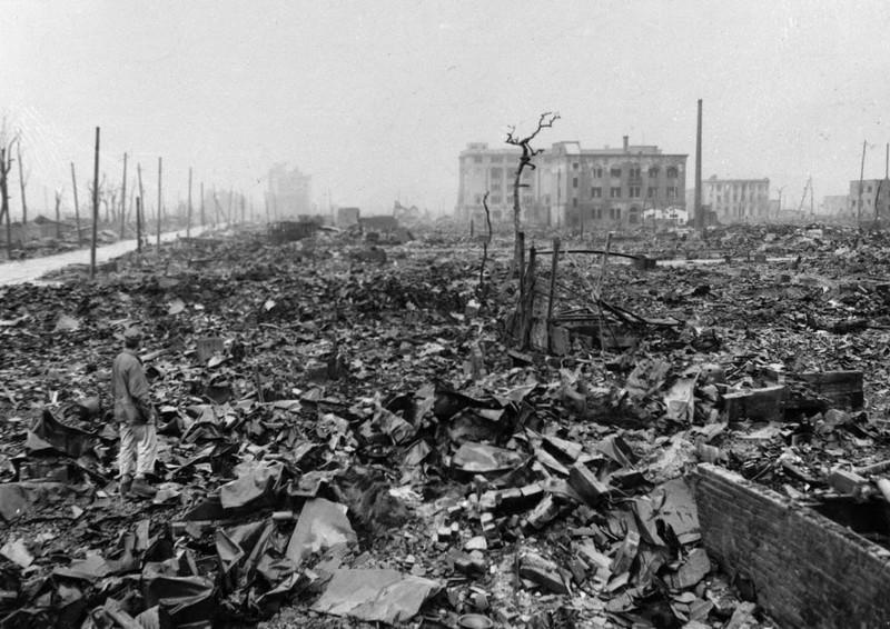 14. Хиросима и Нагасака город, интересное, история, люди, мир, разрушение, событие, фото
