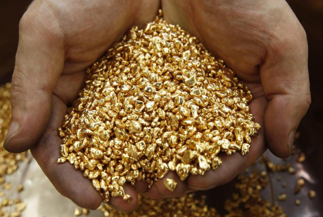 Как на Земле появилось золото