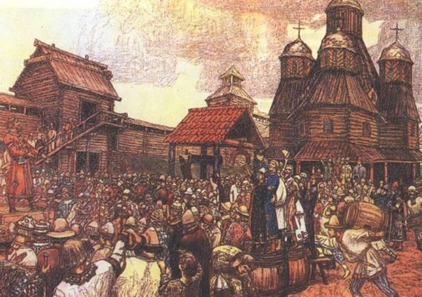 На какие княжества распалась Киевская Русь