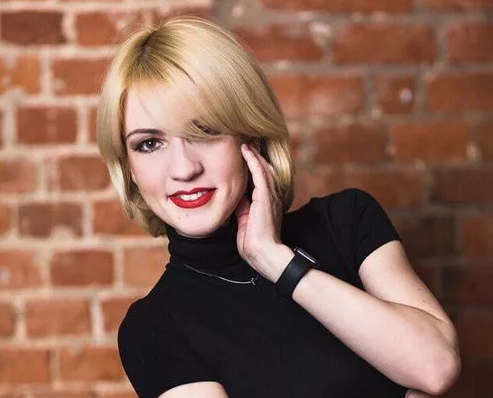 Чиновница-блондинка из Хакас…