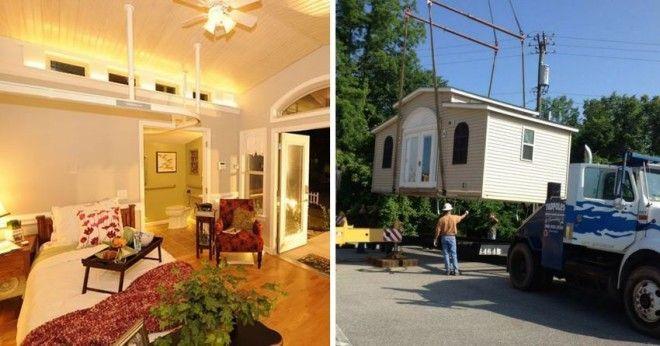 Складные крошечные дома становятся всё популярнее в мире