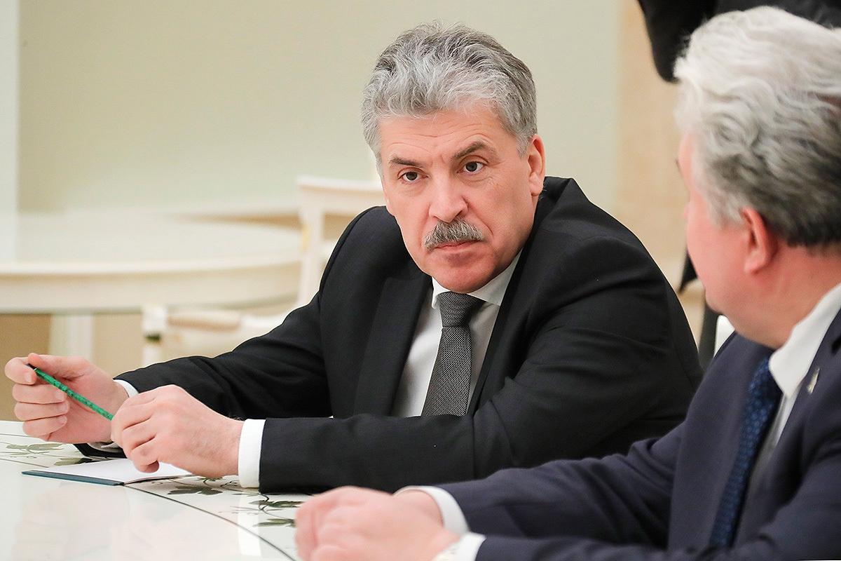 Арестованы акции Грудинина в…