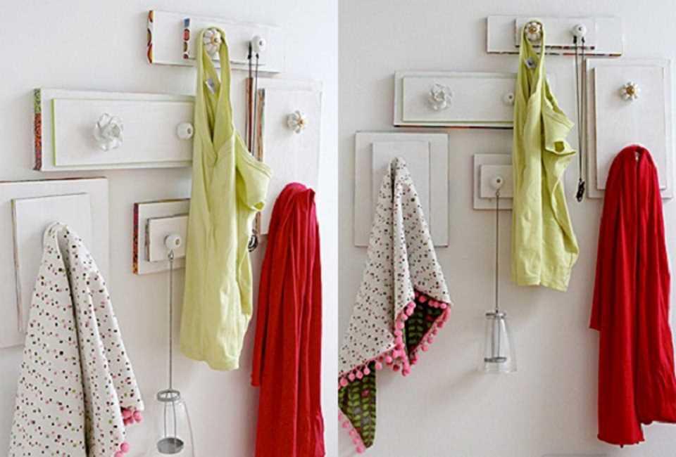 Вешалка для полотенец в ванную своими руками из дерева фото 39