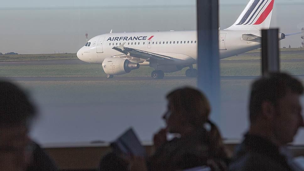 Самолет Air France не пролетел Россию