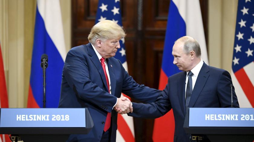 Американцы испугались тайной встречи Трампа с Путиным