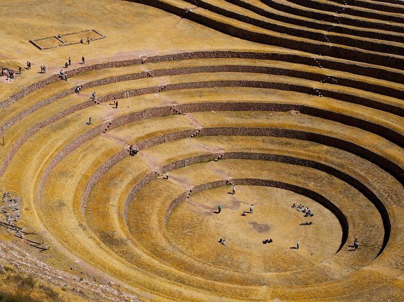 Terraces02 Мистические земледельческие террасы инков Морай