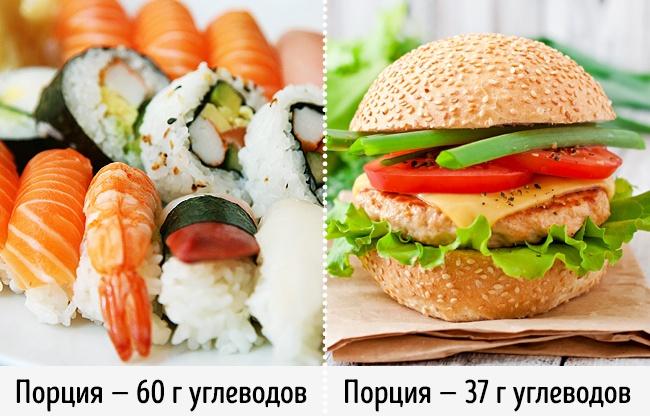 Суши можно есть на любой диете