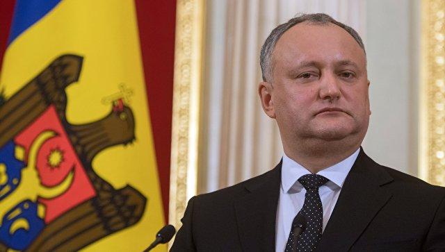 Президент Молдовы Игорь Додон: «Я опираюсь не на продажные элиты, а на народ»