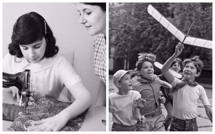 Чему учили бабушки и дедушки наших мам и пап и чему не учат родители сегодня воспитание, дети, интересно, родители, фото, чему учат детей сегодня