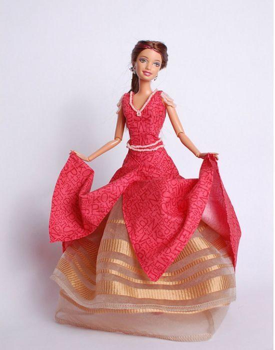 Шьём одежду для куклы Барби