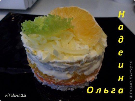 Кулинария Рецепт кулинарный Порционные салатики+ мини мк Продукты пищевые фото 5