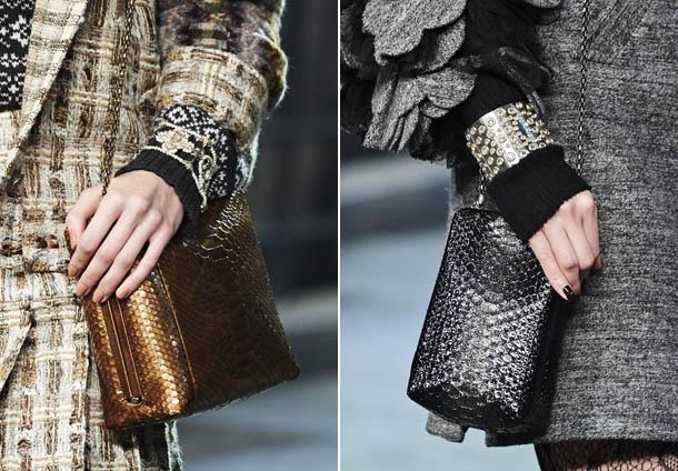 Модные сумки из змеиной кожи 2017 - Chanel