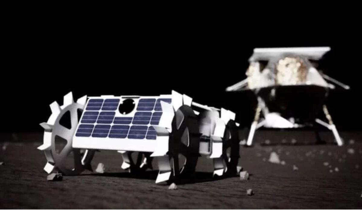 На фото показали мини-луноход NASA