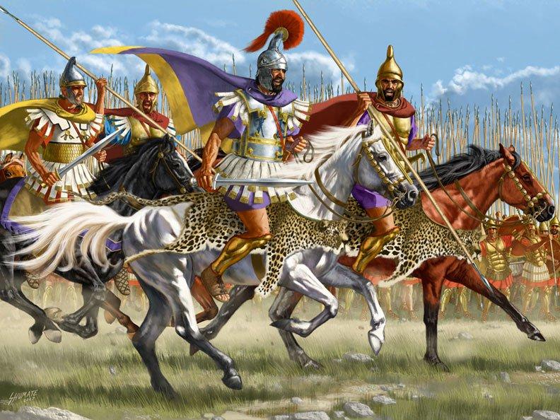 Свидетельства античных военных теоретиков о делении конницы
