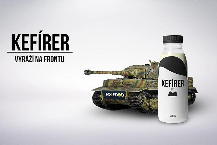 Кефир с изображением Гитлера под названием «КЕФИРЕР» начинают выпускать в Европе