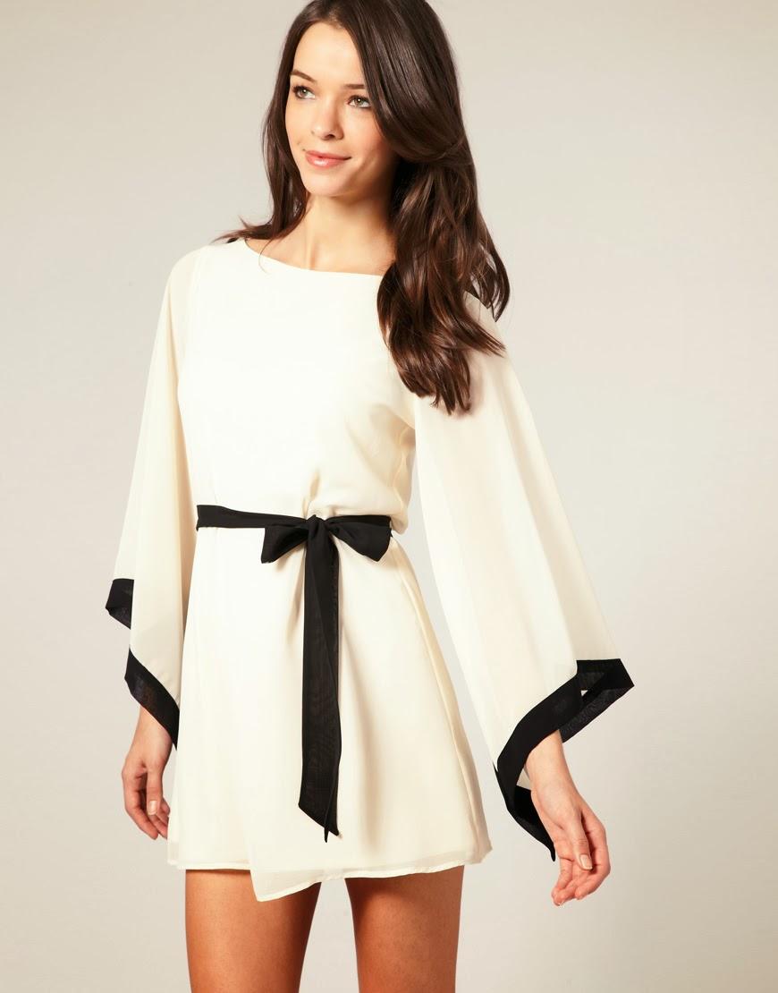 Женственный рукав кимоно: моделирование и выкройки