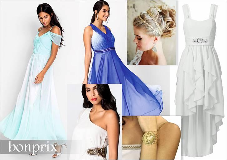 Платье в греческом стиле сделает из вас богиню Олимпа