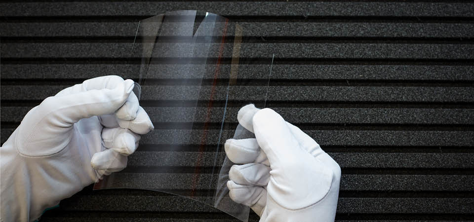 Гибкое стекло - нанотехнологии из прошлого
