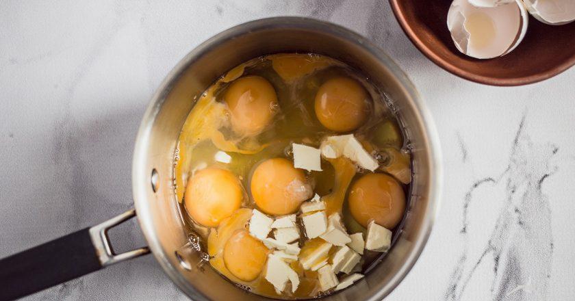 Завтраки из яиц