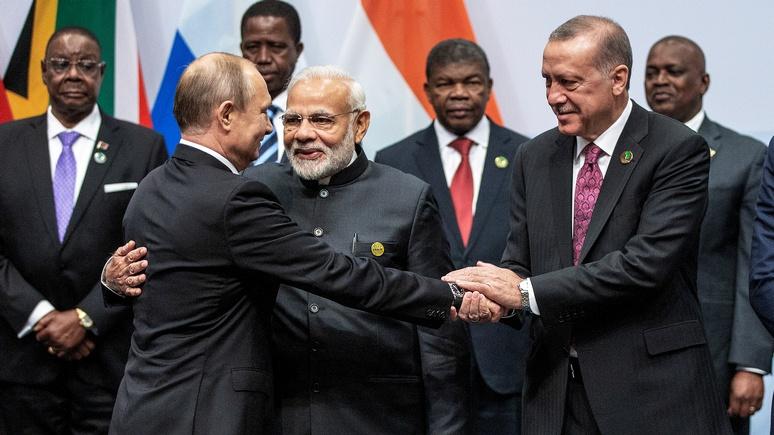Вступление Турции в БРИКС способно вызвать «геополитический шок»