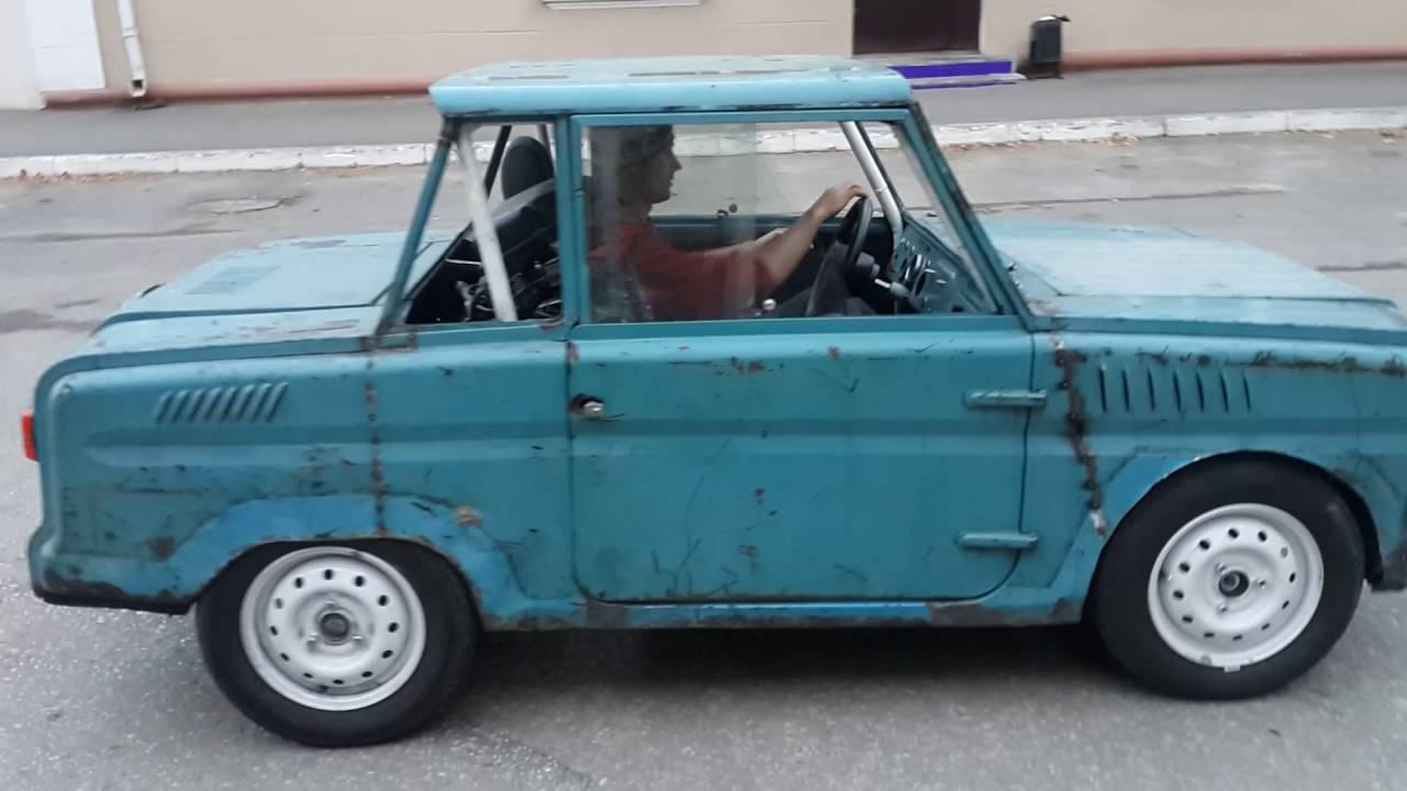 Что будет, если в старый автомобиль установить двигатель от спорт байка? -  Бешеный агрегат!