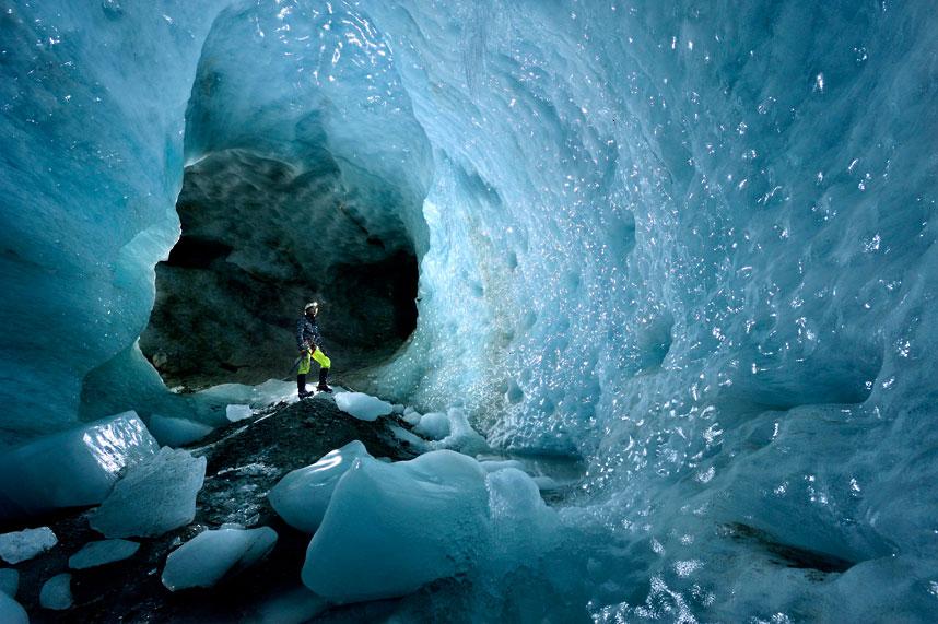gorner 9 Ледяные пещеры ледника Горнер