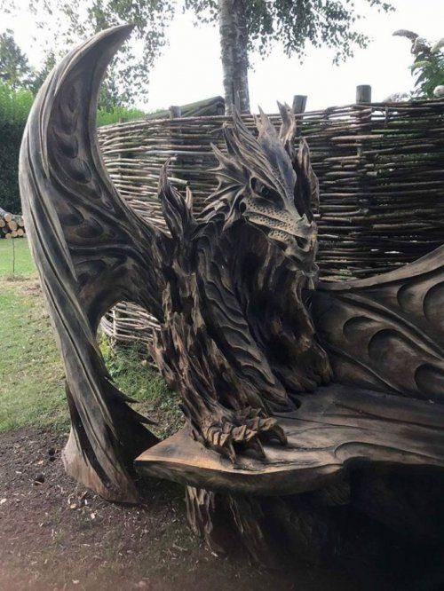 Удивительные скульптуры, вырезанные из дерева с помощью бензопилы от Игоря Лоскутова