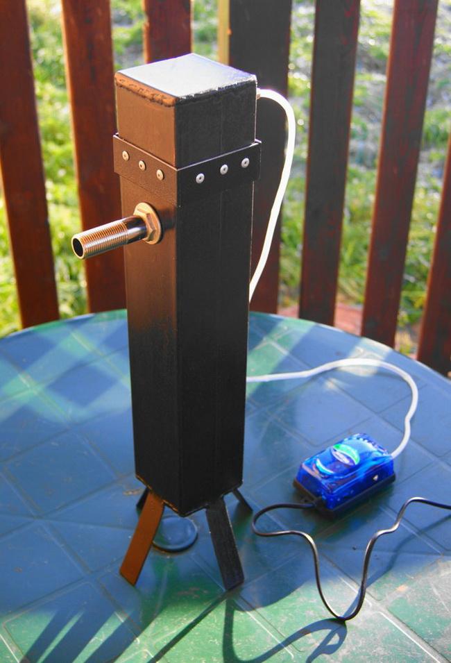 Самодельный генератор холодного дыма для копчения