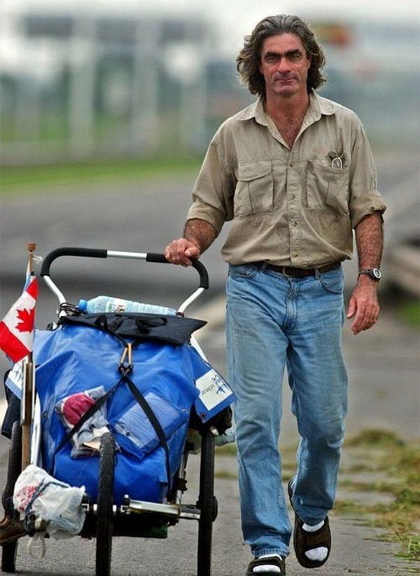 Жан Беливо - пешее кругосветное путешествие без копейки в кармане