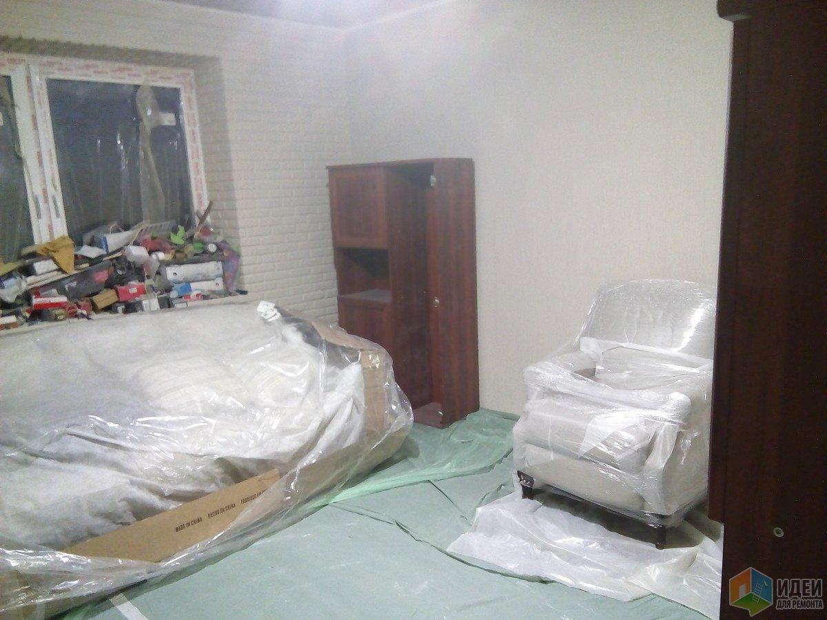 Пытаемся примерить расстановку мебели