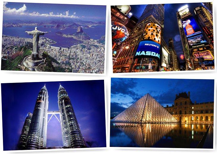 Самые дешевые и самые дорогие города для туристов в мире!