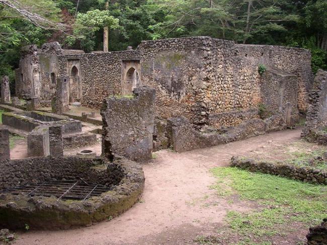 Чудеса света. Руины Затерянного города Геди (  Кения )