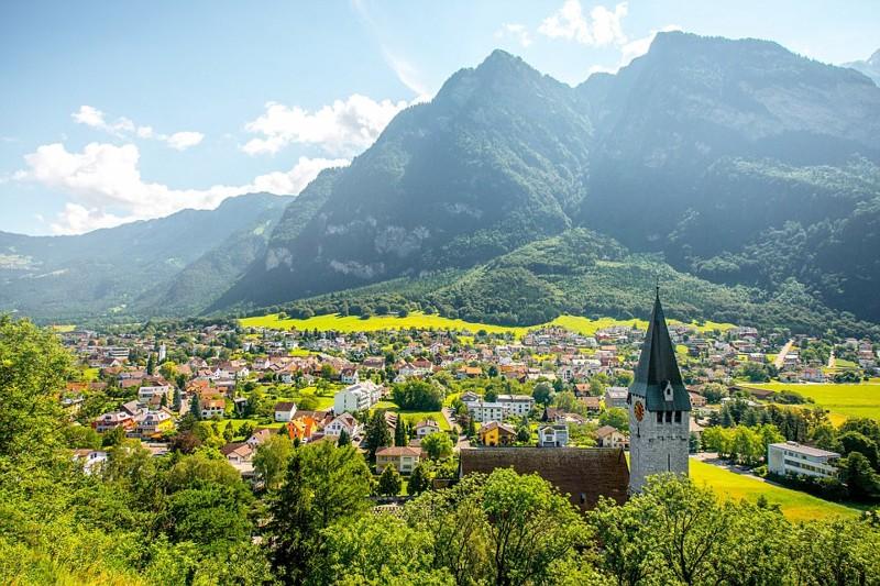 Лихтенштейн - 69 тысяч туристов в год дальние острова, куда поехать, нехоженые тропы, познавательно, путешествия, статистика, туризм, туристы