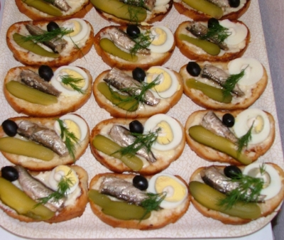 Закуски бутерброды рецепты фото