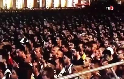 """Более тысячи фанатов """"Ювентуса"""" пострадали в давке в Турине"""