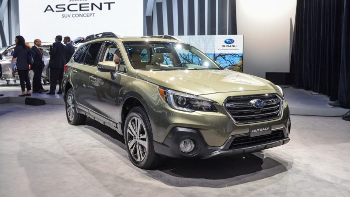 Электромобиль Subaru: стали известны подробности