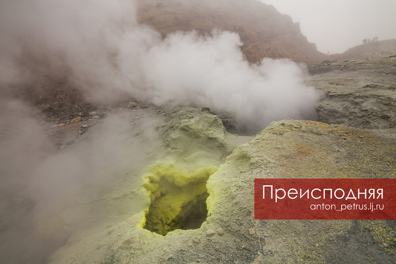 Мутновский вулкан - одно из самых удивительных мест на Камчатке