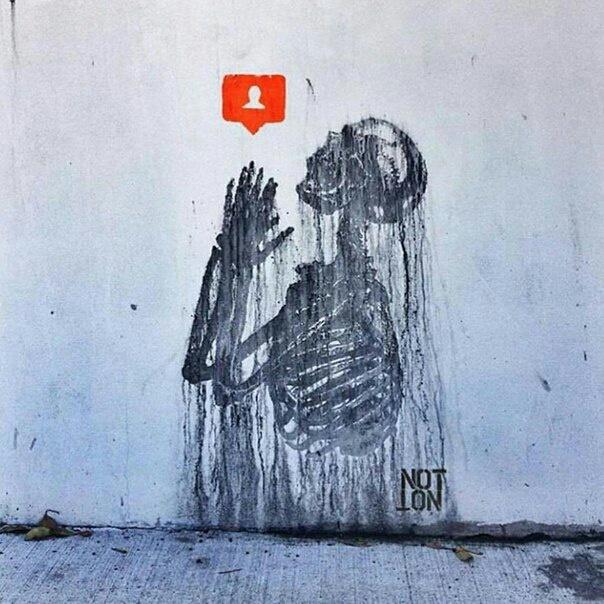 Уличный художник Notnotcamscott