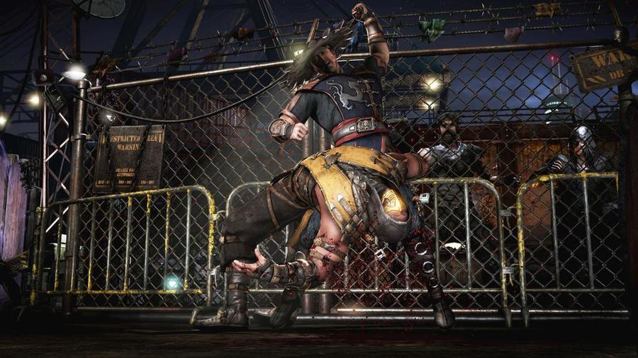 Mortal Kombat X - Кунг Лао и Скорпион