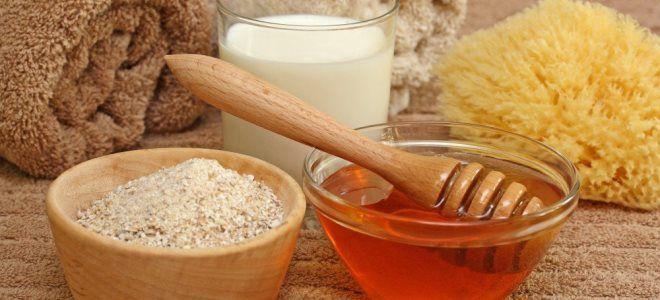маска для сухой кожи с медом