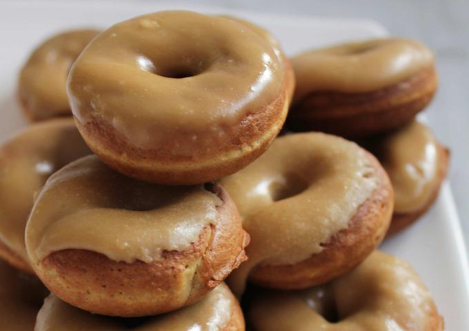 Имбирные пончики с глазурью