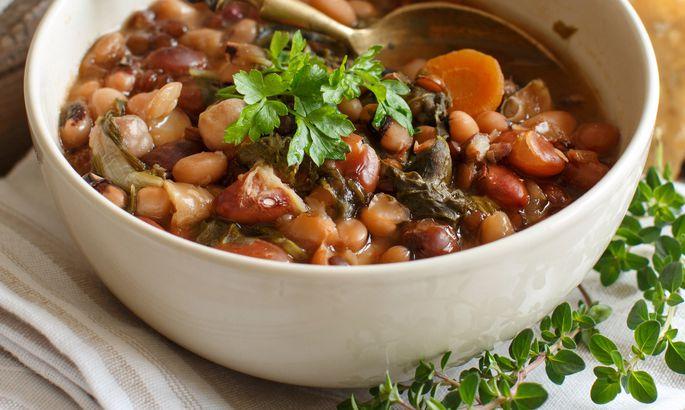 Гороховый суп: рецепт с грибами