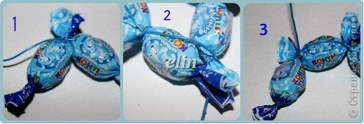 Мастер-класс Свит-дизайн Упаковка Новый год Разные сладкие работы Бумага Материал оберточный Проволока Продукты пищевые фото 32
