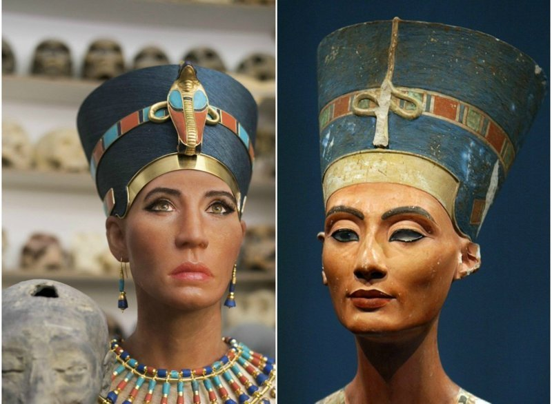 Лицо царицы «Нефертити» восстановили с помощью 3D-сканирования древней мумии