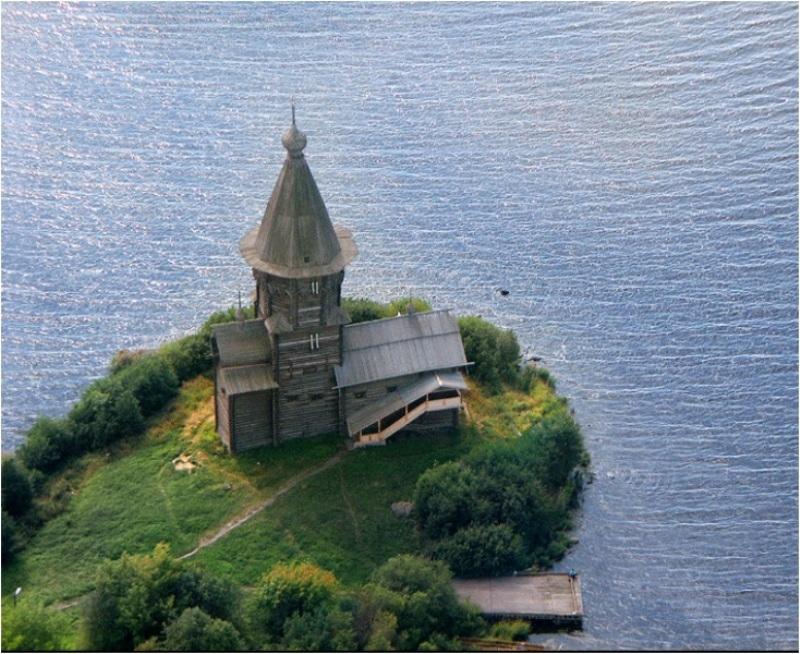 Красоты России. Успенская церковь в Кондопоге