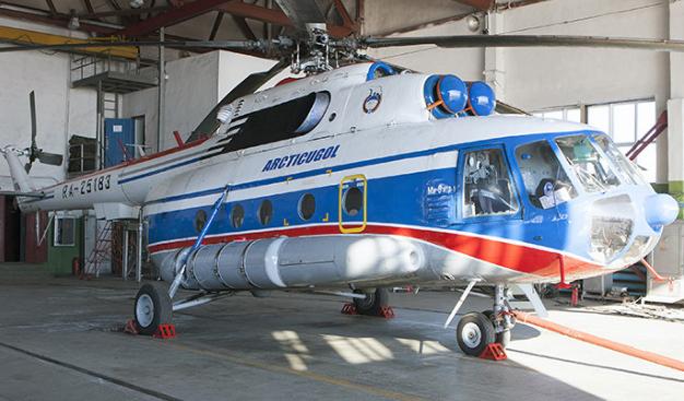 Спасатели нашли обломки пропавшего у Шпицбергена вертолёта Ми-8