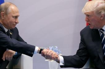 Путин и Трамп: контакт без свидетелей