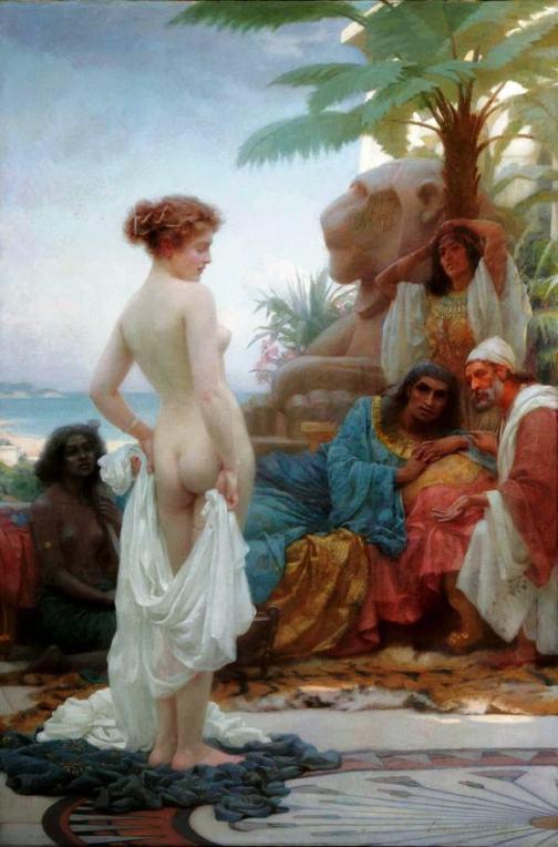 Издержки тяги к романтизму — рабыни в европейской живописи 19 века