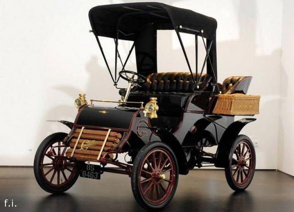 Генри Мартин Лиланд и его авто.