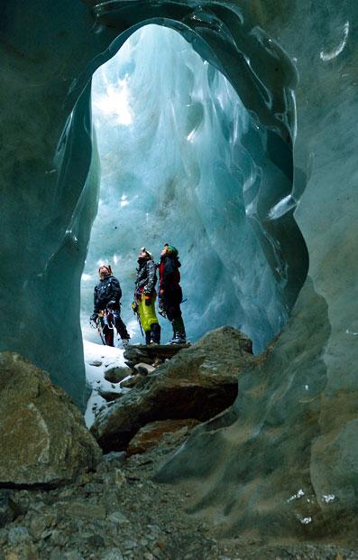 gorner 7 Ледяные пещеры ледника Горнер